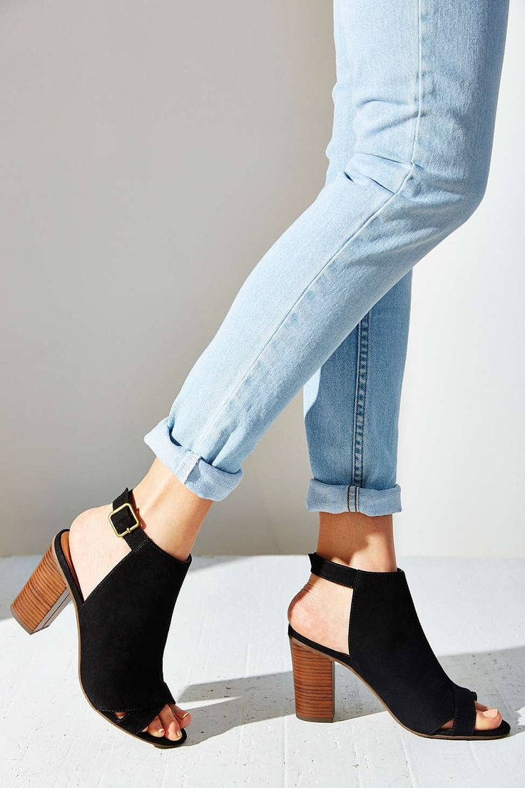 BC Footwear Puma Peep-Toe Heel - Urban Outfitters - Casual but could be dressed up