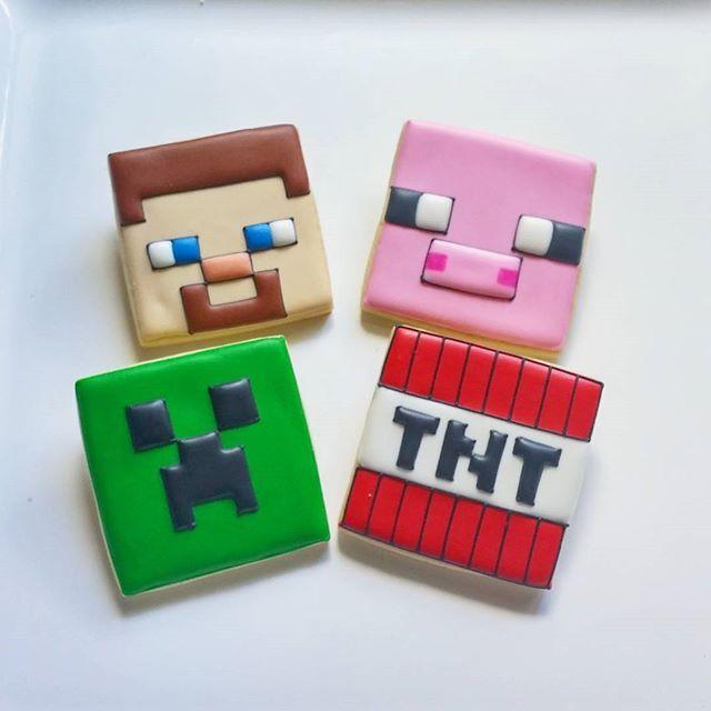 #minecraft #cookies #decoratedcookies