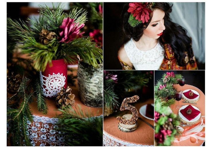 winter wedding, decor, love.