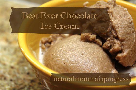 Best Ever Chocolate Ice Cream Recipe (Yes, I'm Aware It's Still Winte...