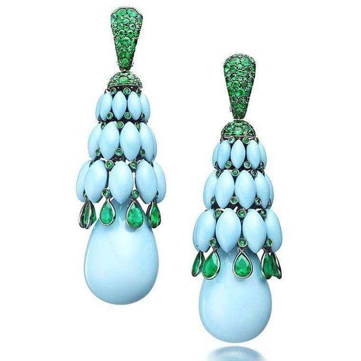 #turquoise #jewelry #jewellery #finejewelry #highjewelry #accessories #instajewelry #lovegemstones #gemstones #gems #kamienieszlachetne #biżuteria #jubiler #jeweller #jewelrygram #fashionjewelry #follow4follow #likeforfollow #nofilter #followme #tag4likes #followforfollow #earrings #diamonds #diamenty #lovediamonds