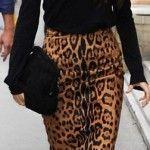 La pièce en léopard.