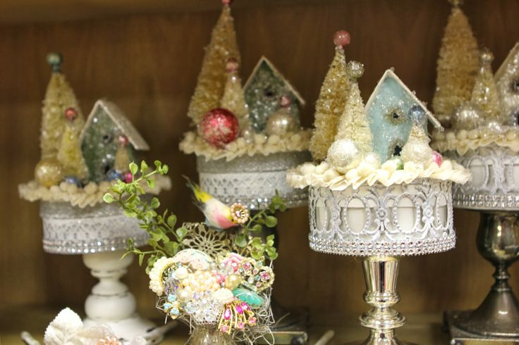 christmas houses from Romancing the Home blog