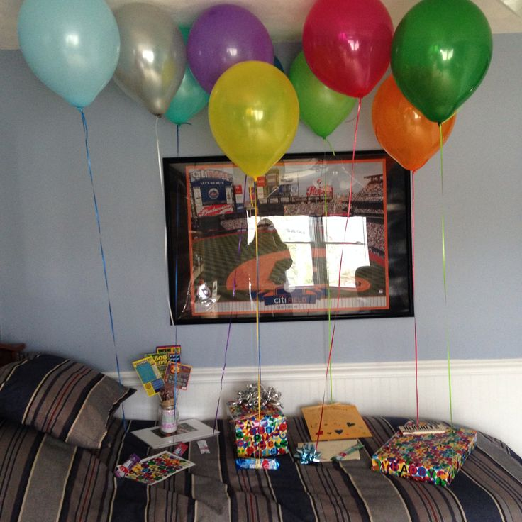 Boyfriends birthday surprise!