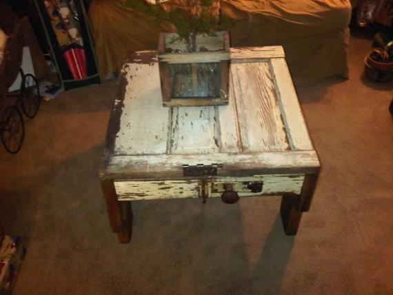 Benoist Reclaimed Wood Vanity Mirror: 12 Best Barn Wood Coffee Table Images On Pinterest