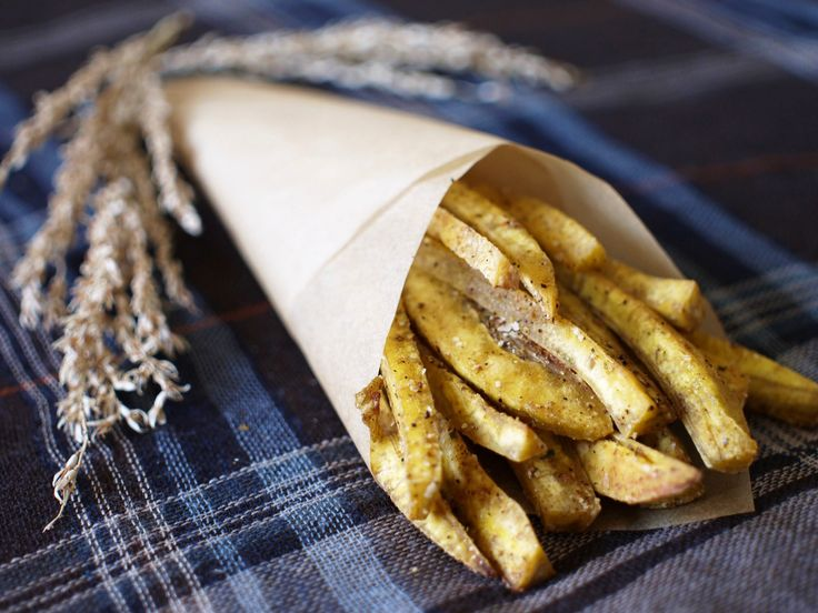Duck Fat Plantain Fries (baked) #aipaleo by @southbeachprimal