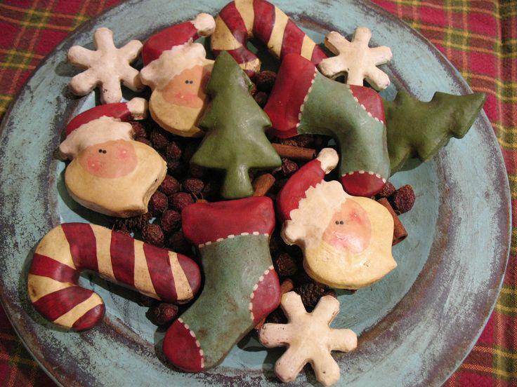 Christmas salt dough.