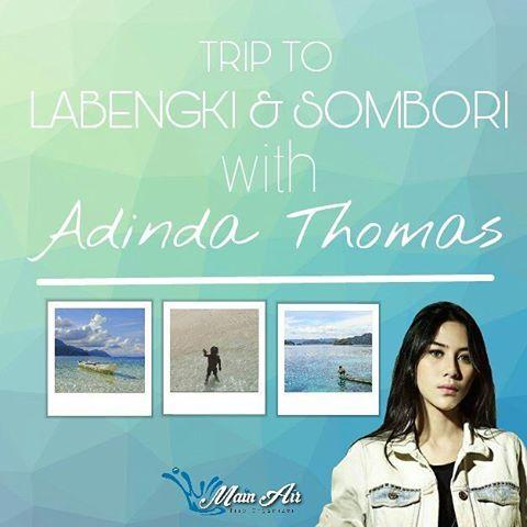 @adindathomas selalu suka pantai, apa lagi yang pasirnya putih dan airnya bening. Di Labengki & Sombori yang terletak di Pulau Sulawesi, banyak banget pantai cantiknya. Di sini bahkan ada Miniatur Raja Ampat, lho! Gak kalah indah deh sama yang aslinya. . Jalan-jalan ke sini bareng @adindathomas, yuk? Caranya, daftar trip ke Pulau Labengki & Sombori @adindathomas x @mainair.id ini. Jadi, tunggu apa lagi? Follow akun @mainair.id dan daftar sebelum kuotanya penuh, ya. Let's go! . 🐳Trip…