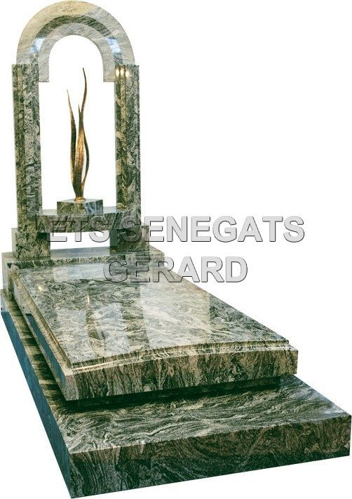 Monument funéraire en granit contemporaine COLISÉE