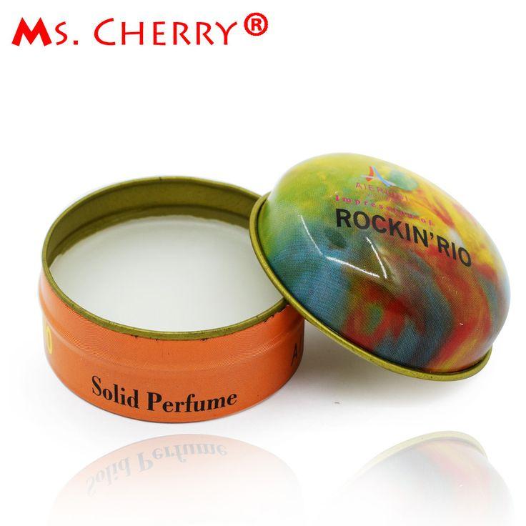 Portable Solid Perfume 15ml for Men Women Original Deodorant Non-alcoholic Fragrance Cream MH011-18