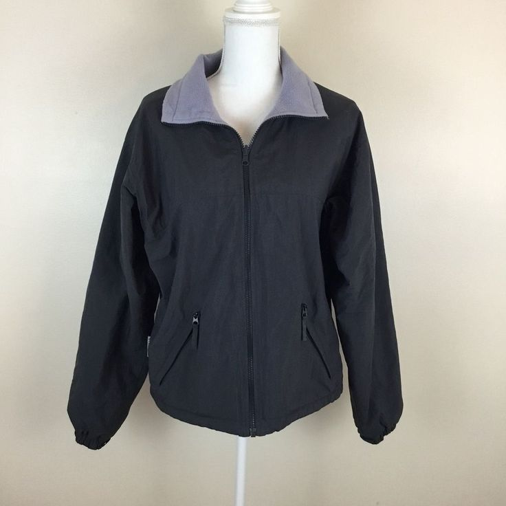 Columbia Sportswear Company Core Interchange Jacket Womens Size M Fleece Lined  #Columbia #FleeceJacket #Outdoor