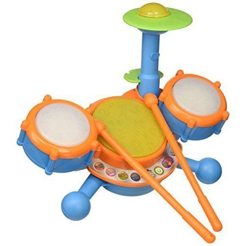 Kids Drum Set Music Toys Learning Fun Toddlers Gift Toy Baby Toddler Exclusive  #KidIdeas