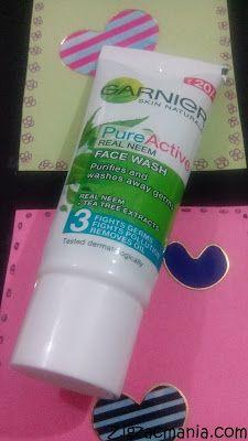 Zig Zac Mania: My Acne Diary: Garnier Pure Active Real Neem Face ...