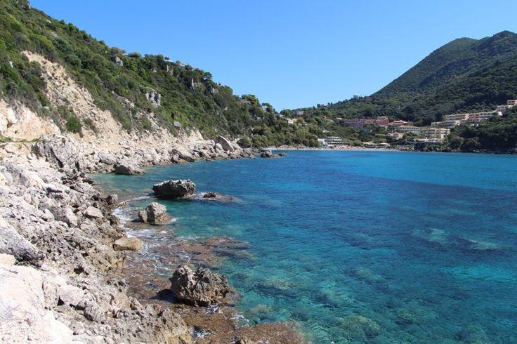Strand von Ermones / Korfu