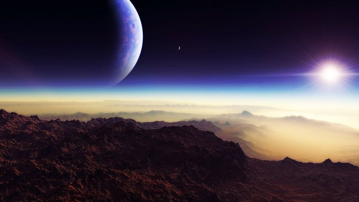 desert horizon hd by saltynugget