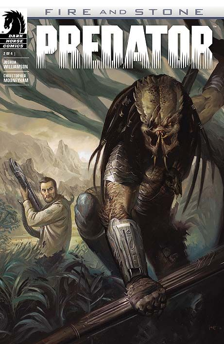 Galgo è costretto a tornare su LV-223 per accompagnare un Predator a dare la caccia ad un Ingegnere. Ma le sorprese saranno tante. #DarkHorseComics #Predator #Aliens #Prometheus