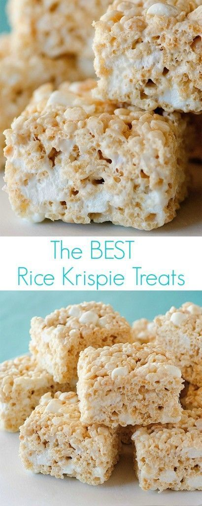 These rice krispie treats are seriously the best!