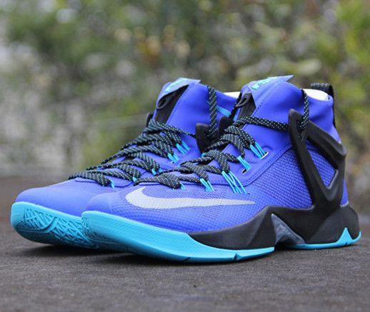 Nike Ambassador VIII 8 Lebron James Black Grey Men