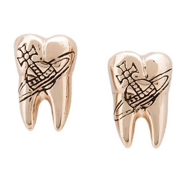Vivienne Westwood Blake Earrings ($115) via Polyvore featuring jewelry and earrings