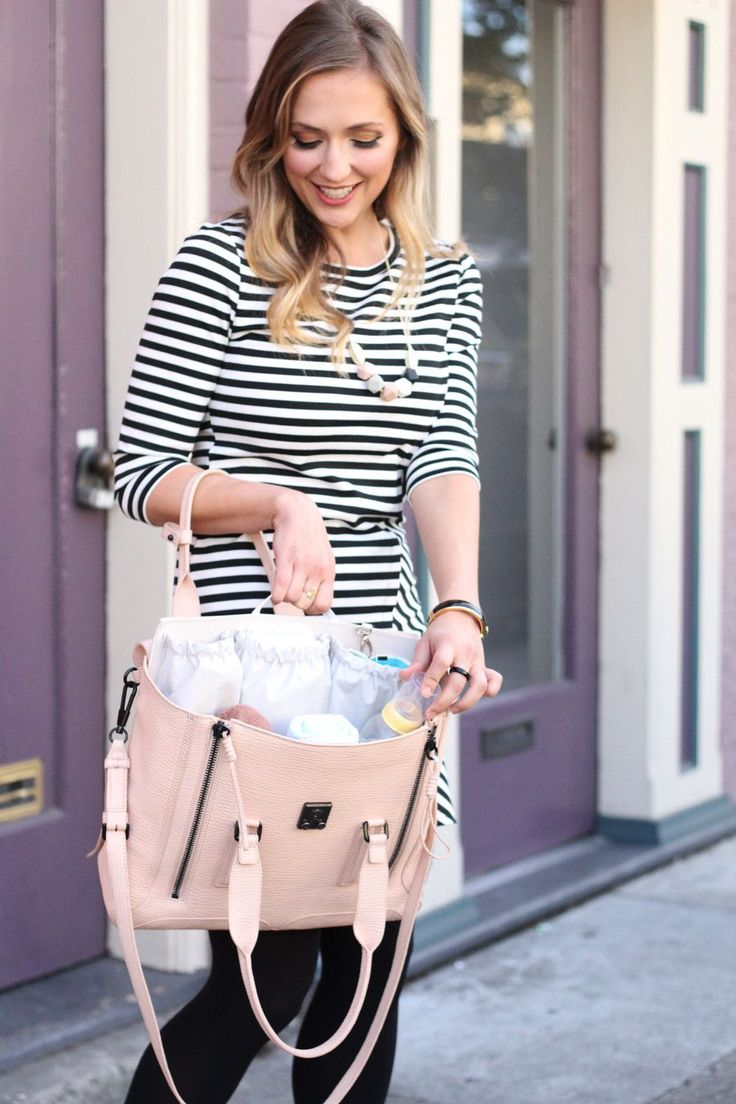 ToteSavvy is the modern alternative to a diaper bag by combining the inner lining of a traditional diaper bag with your own handbag collection. Made from a durable nylon twill that's easy to wipe clea