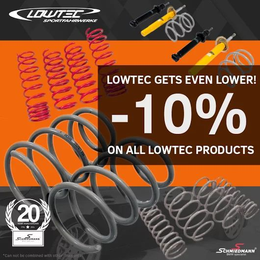 Last day of our -10% Lowtec offer. The summer is around the corner! See the selection here http://goo.gl/l7PeMr