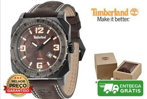 Relógio Timberland Pinardville | 10ATM- Caixa de aço inoxidável- Mostrador castanho- Diâmetro 42mm- Movimento de quartzo- Cristal mineral- Resistente à água até 10 ATM / 100 metros- Caixa de oferta, pode ser ligeiramente diferente da foto