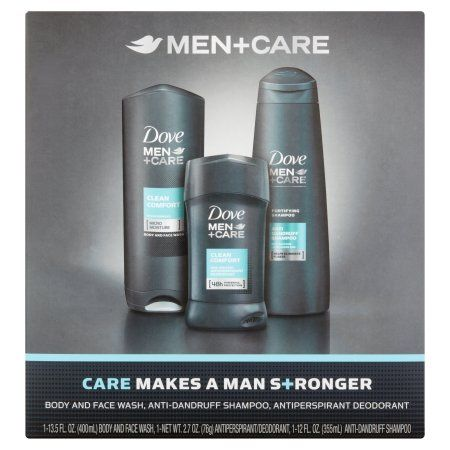 Dove Men+Care Clean Comfort Everyday Gift Pack, 3 pc