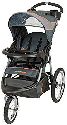 5dcbacc73fb45 Amazon.com : Baby Trend Expedition Jogger Stroller, Bubble Gum : Baby