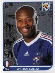 Image result for 2010 panini france gallas