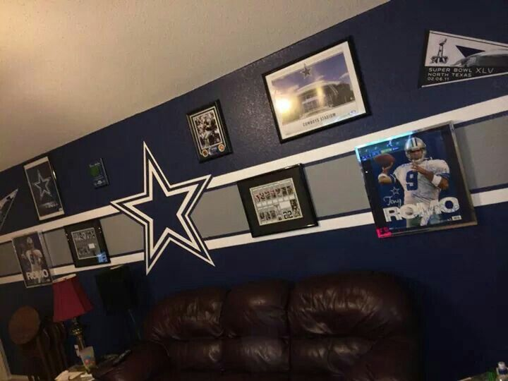 dallas cowboys bedroom decor. Dallas Cowboys Fans Room  ManCave Best 25 cowboys room ideas on Pinterest Man cave