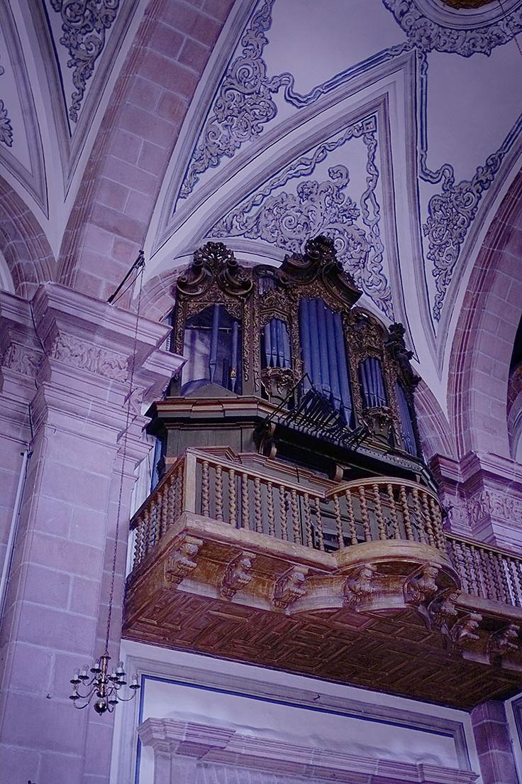 "Inside the Cathedral in ""Plaza Aranzazu"" in San Luis Potosi, Mexico"