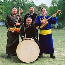 Tuvan Throat Singing--, Khoomei, Hooliin Chor (in Mongolian, 'throat harmony'), or Mongolian throat singing is one particular variant of overtone singing practiced by people in Mongolia, Inner Mongolia, Tuva and Siberia. It is inscribed in 2009 on the Representative List of the Intangible Cultural Heritage of Humanity of UNESCO, under the name Mongolian art of singing, Khoomei.