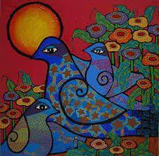 Resultado de imagen para pinturas de musica latinoamericanas