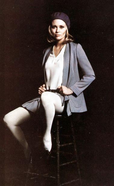 Ultimate beret wearer: Faye Dunaway photographed by Milton Greene, 1968.