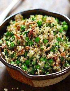 Salade healthy : salade de quinoa - 11 salades légères et colorées pour être en forme tout l'été - Elle à Table