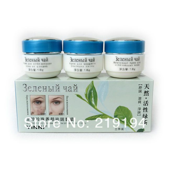 Find More Day Creams & Moisturizers Information about Wholesale YINNI Green tea anti freckle skin care whitening cream for face 3 in1 remove pigment in 10 days Russia Version,High Quality Day Creams & Moisturizers from Guangzhou Y Y Foreign Trading Co. Ltd on Aliexpress.com