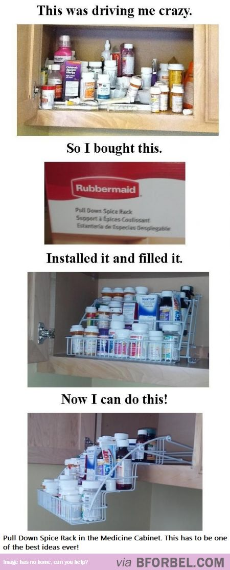 This Has GOT To Be One Of The Best Household LifeHacks EVER! Bathroom  OrganizationStorage ...