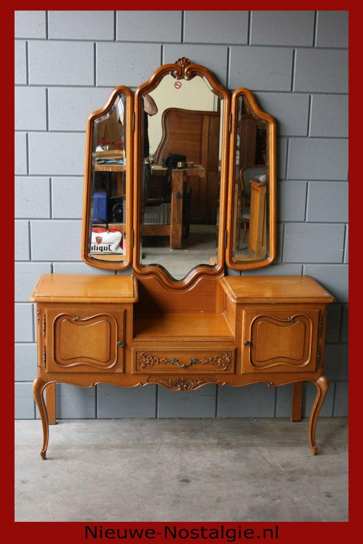 Mooie Queen Anne kaptafel, zie ook www.nieuwe-nostalgie.nl
