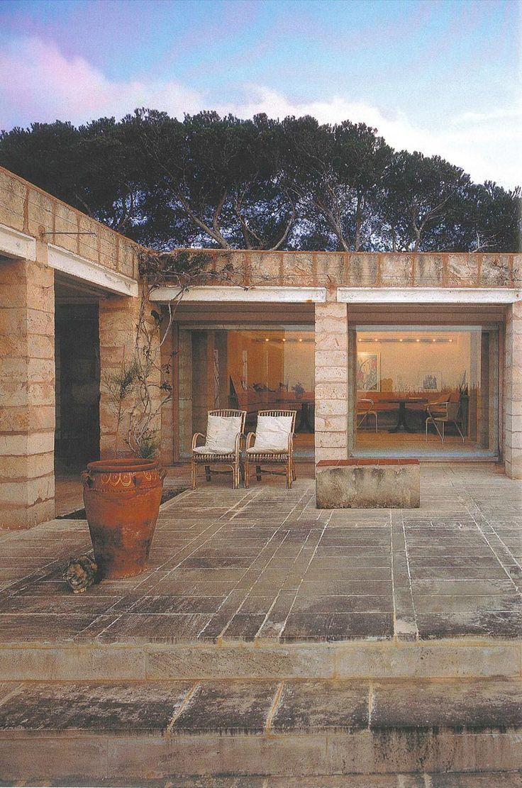 Jorn Utzon, Own House - 1977 Mallorca (Illes Balears)