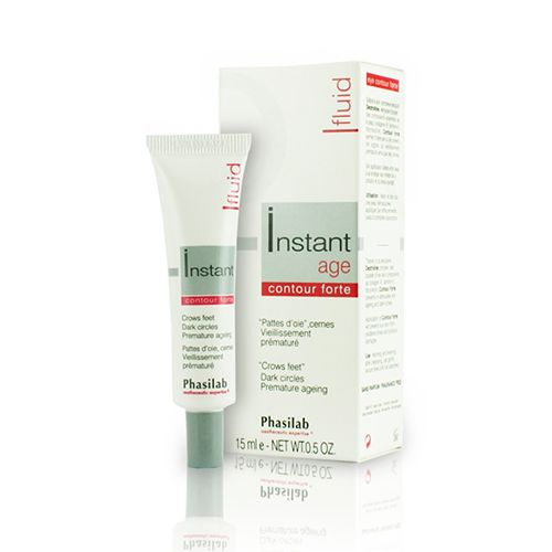Phasilab Instant Age Contour Forte Fluid is a breakthrough formula that provides maintenance for youthful and healthier looking skin and radiant eyes. Enhances collagen production, preserves Hyaluronic Acid capital, controls stress and restores comfort. Ideal for mature and aging skin or post aesthetic procedure.