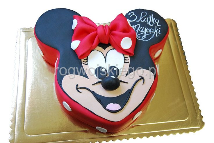 Tort Myszka Minnie, Minnie Mouse cake: Myszka Minnie, Minnie Mouse Cake