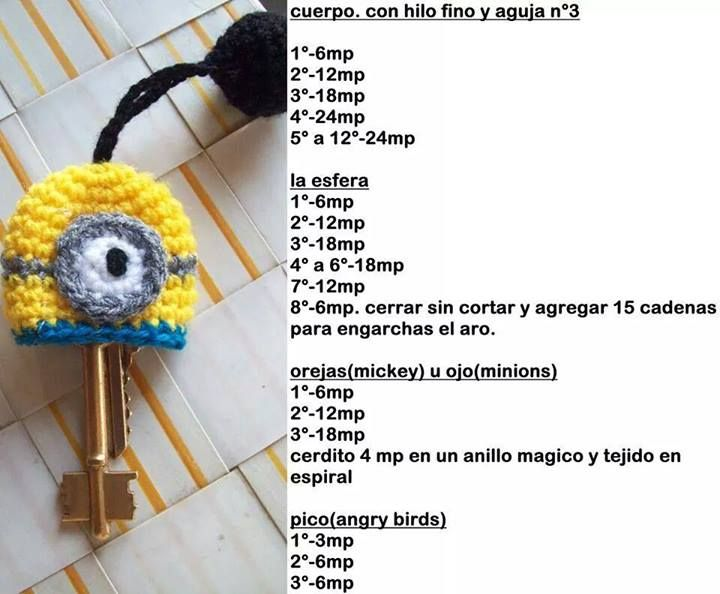 284 best minions images on Pinterest   Amigurumi patterns, Crochet ...