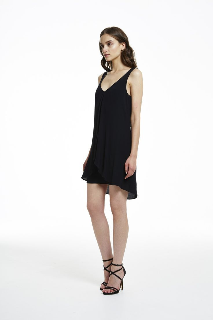 Cooper St - Wanderlust Black Dress