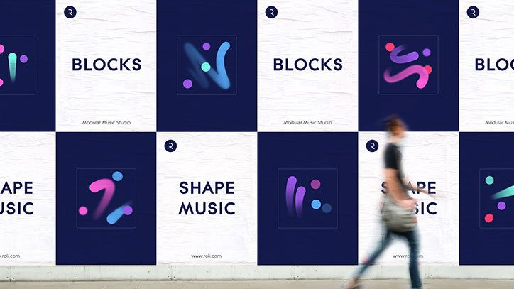 It's Nice That | DesignStudio creates campaign for innovative new Roli instrument, Blocks