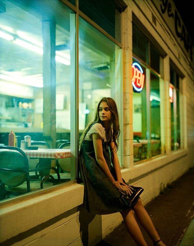 Ambient Light Night-Portraiture