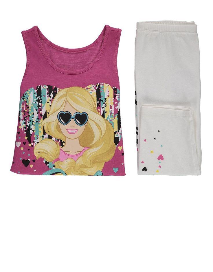Barbie Cotton Top Set