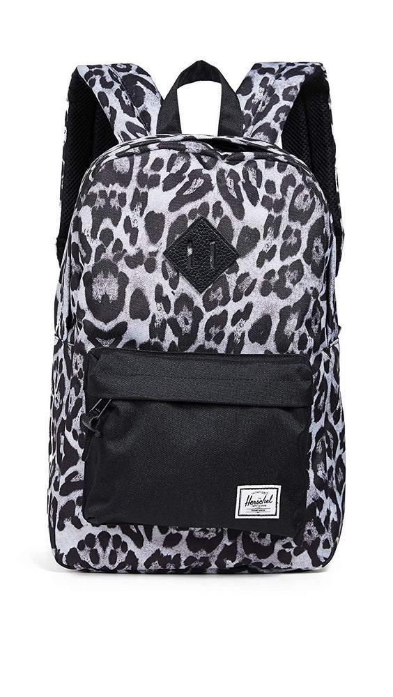 los angeles pick up exclusive deals Herschel Heritage Mid-Volume Backpack, Snow Leopard/Black ...