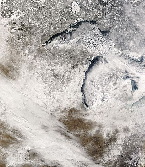 """Blog: """"Record Breaking Great Lakes Ice Coverage May Have Silver Lining."""""""