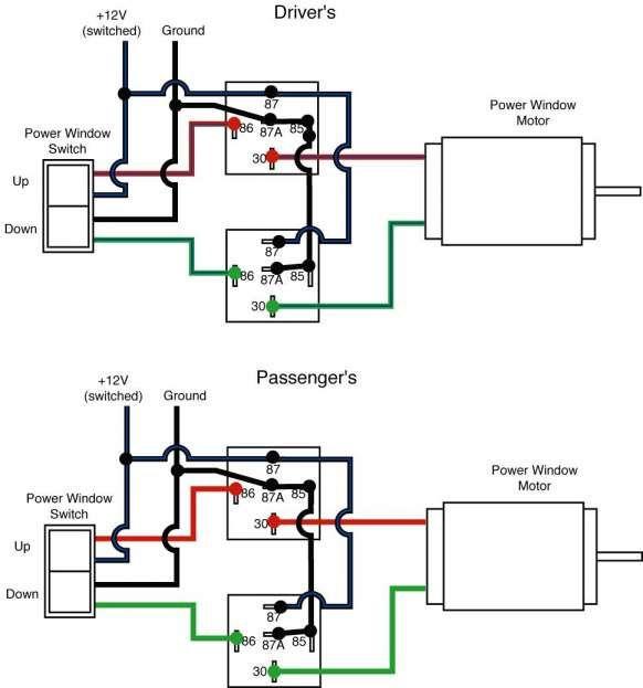 12 Car Power Window Wiring Diagram Car Diagram En 2020 Con