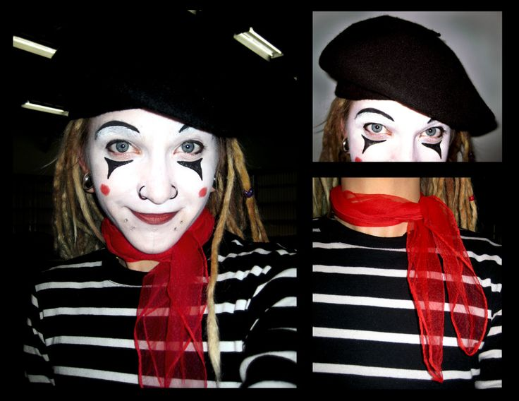 11 best Mime Makeup and Costume Ideas images on Pinterest | Mime ...
